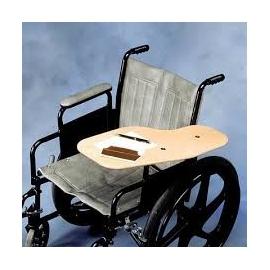 Demi table pour fauteuil roulant