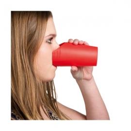 Verre avec découpe nasale