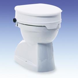Réhausse WC 10cm, avec couvercle