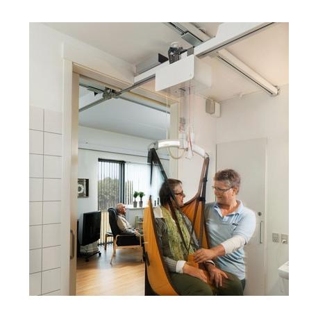 lift de transfert au plafond sur rail guldmann gh3. Black Bedroom Furniture Sets. Home Design Ideas
