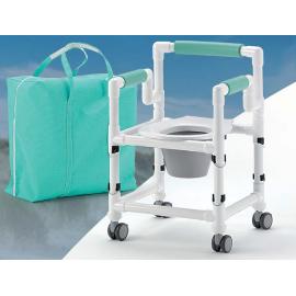 Chaise toilette et douche de voyage
