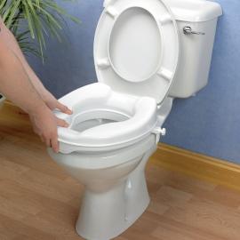 Réhausse WC 5cm avec couvercle