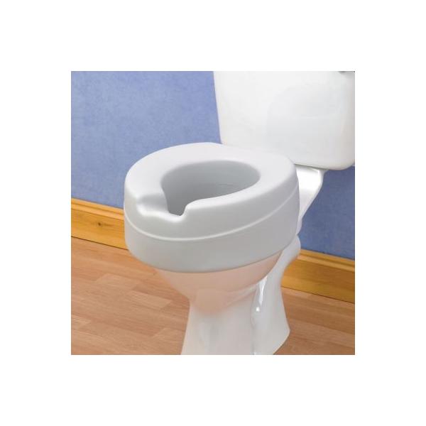 R hausseur de toilette 10cm souple - Rehausseur de toilette pour adulte ...