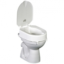 Réhausse WC 6cm Hi-Loo avec couvercle