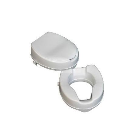 Réhausse WC 15cm, avec ou sans couvercle
