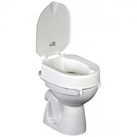 Réhausse WC 10cm Hi-Loo avec couvercle