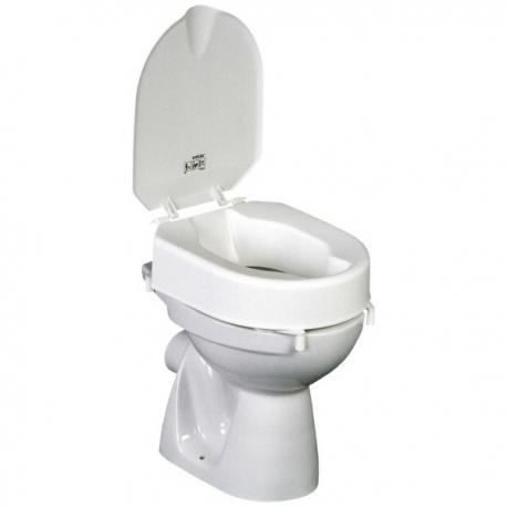 R hausseur de toilette 10cm hi loo avec couvercle - Couvercle de toilette ...