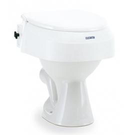 Réhausse WC réglable 6,10,15cm avec couvercle