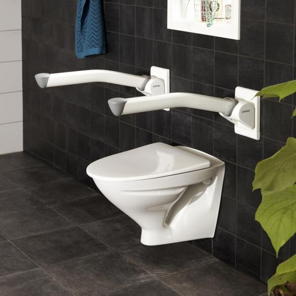 Barre d 39 appui pour toilette design - Analyse de pratique toilette au lit ...