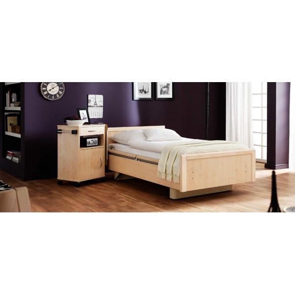 lit de soins pour le domicile et les institutions. Black Bedroom Furniture Sets. Home Design Ideas