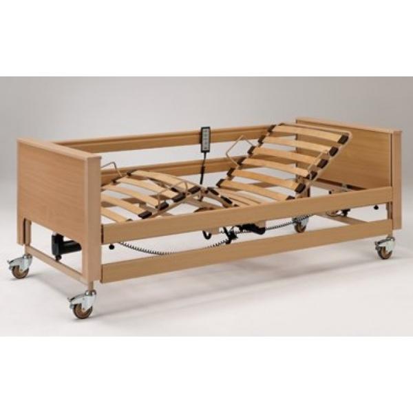 lit de soins pour le domicile cadre en bois. Black Bedroom Furniture Sets. Home Design Ideas